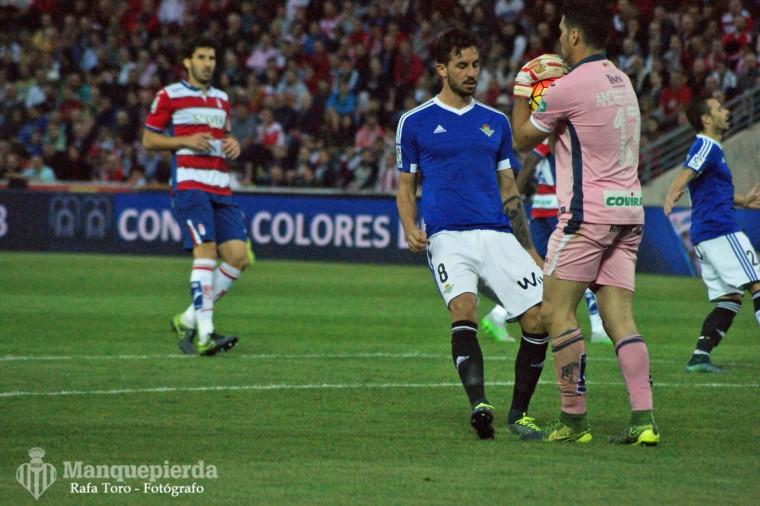 Granada 1-1 Real Betis. Foto: Rafa Toro