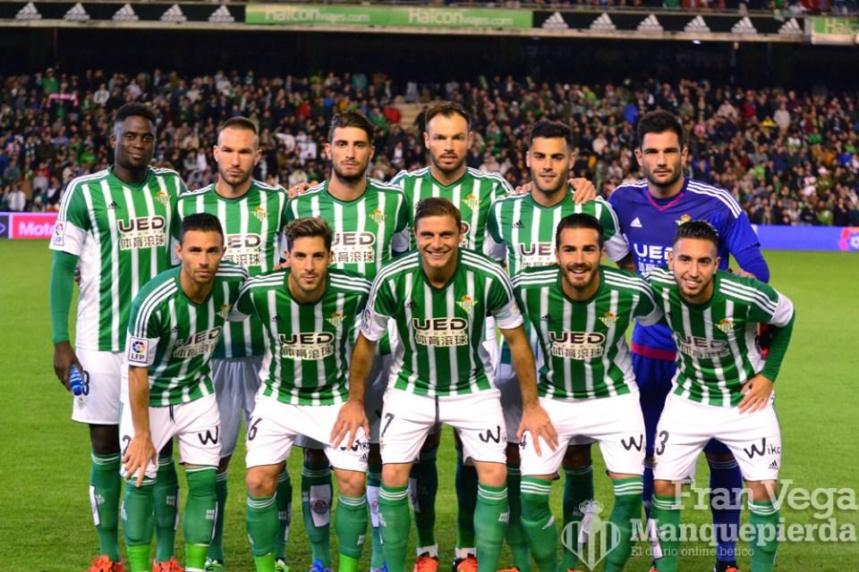 Alineacion inicial  (Betis-Atletico 15/16)