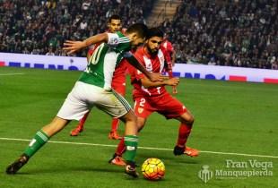 Ceballos fue el puntal del equipo (Betis-Sevilla 15/16)