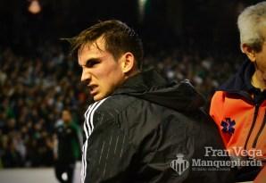 Fabian con gesto de dolor (Betis-Madrid 15/16)
