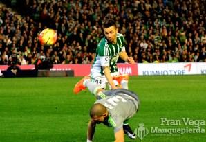 Ruben acabo muy solo en el ataque (Betis-Madrid 15/16)