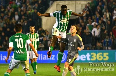 N´Diaye 90 minutos al maximo (Betis-Madrid 15/16)