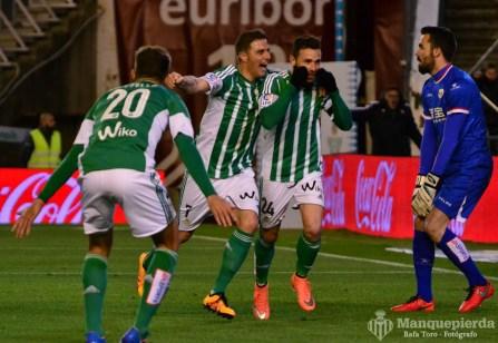 Real Betis 2-2 Rayo Vallecano. Foto: Rafa Toro