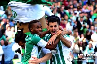 Ceballos lo celebra con rabia (Betis-Valencia 15/16)