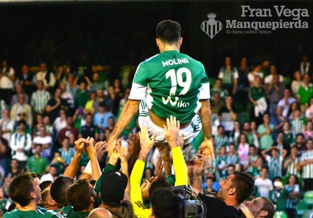 Despedida de Molina, Manteado
