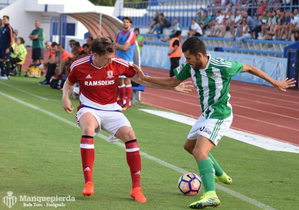Real Betis 2-1 Middlesbrough. Foto: Rafa Toro