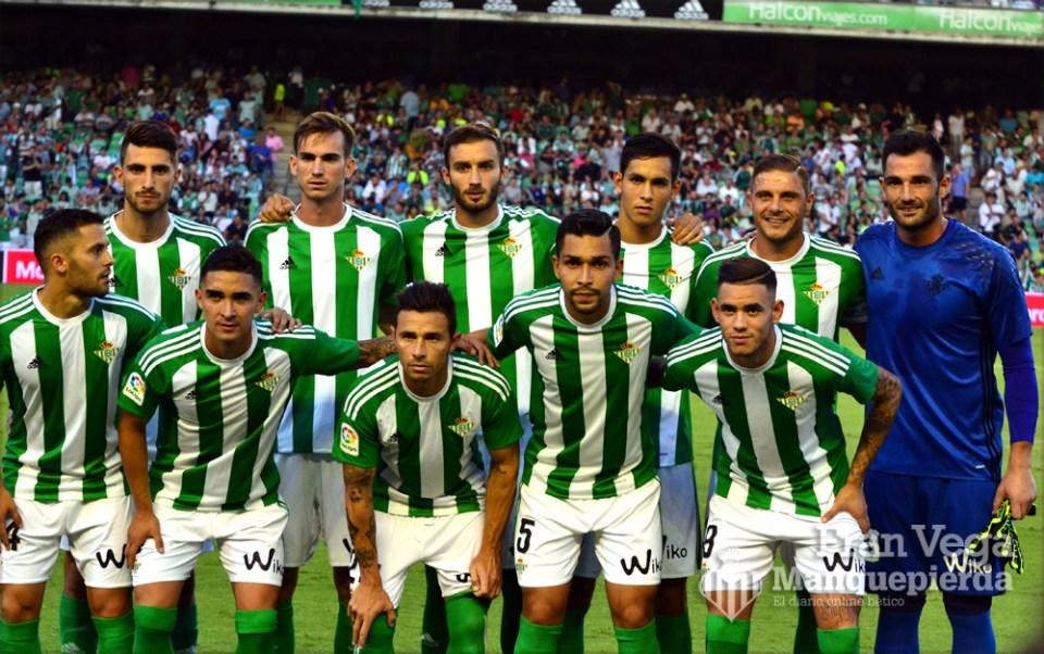 Alineación  (Betis-Deportivo 16/17)