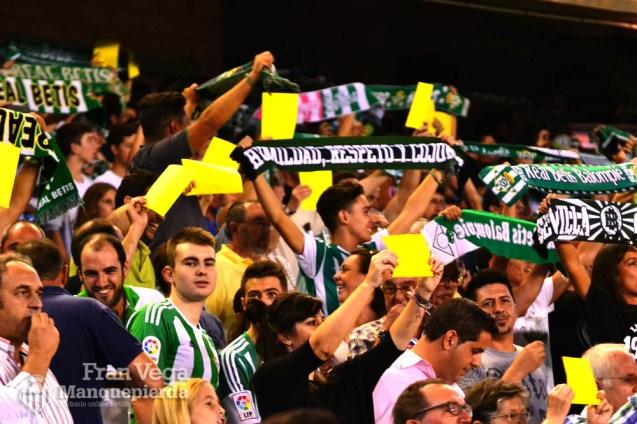 Amarilla a la RFEF (Betis-Málaga 16/17)