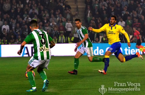 Alex tuvo el pase de la muerte (Betis-Las Palmas 16/17)