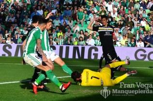 Cerca del primer gol (Betis-Leganes 16/17)