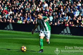 Ruben en una de las primeras jugadas (Betis-Barca 16/17)