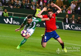 Posible penalti a Ruben (Betis-Osasuna 16/17)