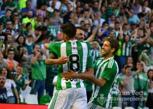 Celebracion gol (Betis-Atletico 16/17)