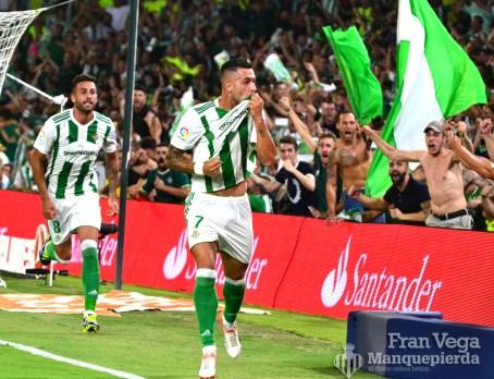 Sergio León se estrena como goleador (Betis-Celta 17/18)