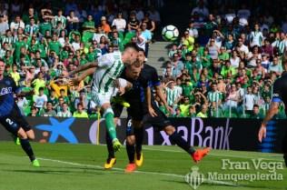 Golazo de Sanabria de cabeza(Betis-Alaves 17-18)