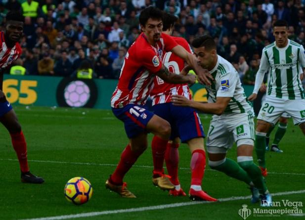 Sergio se va en carrera (Betis-Atletico 17-18)