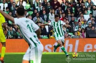 Fabian asiste en el segundo tanto(Betis-Villarreal 17-18)