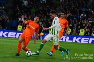 Sanabria no consiguio marcar (Betis-Malaga 17-18)