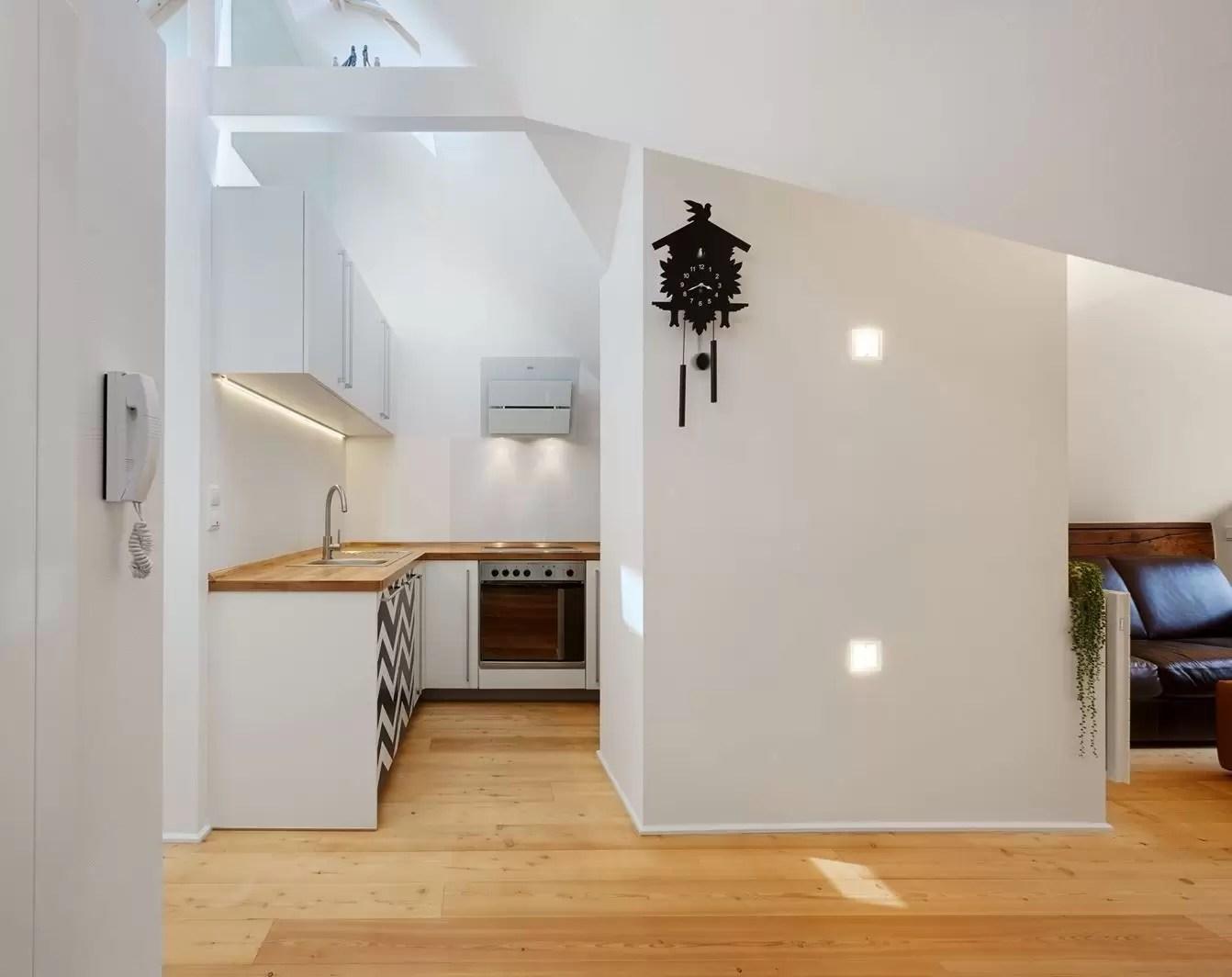 Un appartamento in una mini mansarda di 50 metri quadri  Mansardait
