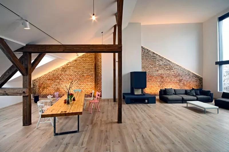 Idee per un soggiorno funzionale in mansarda  Mansardait