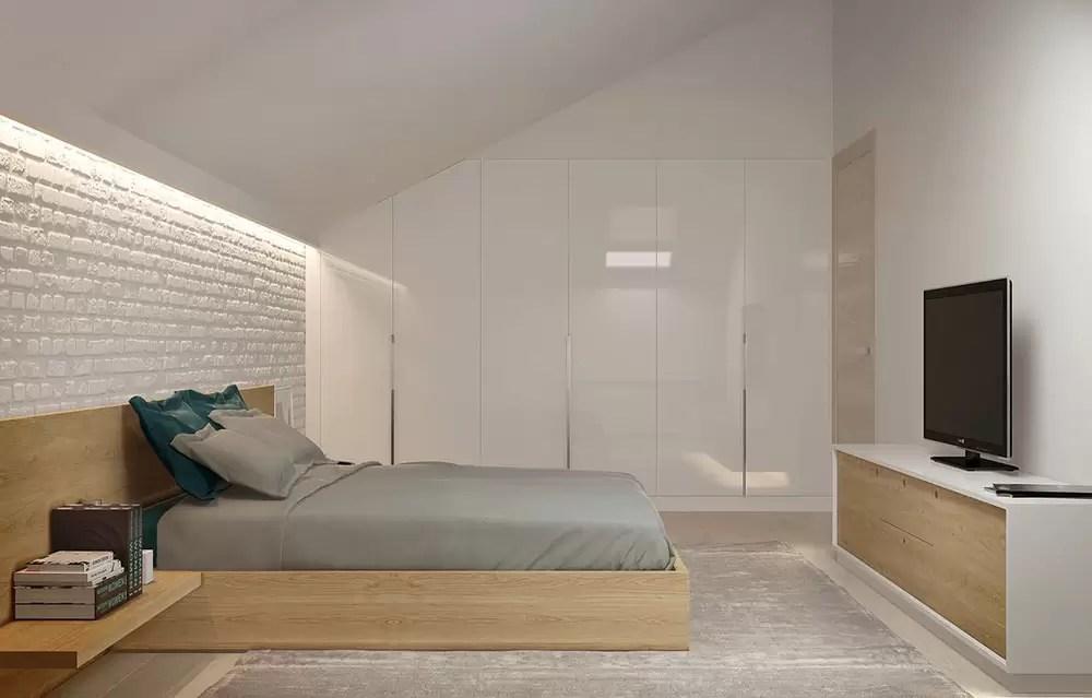 Come trasformare un sottotetto in una camera da letto