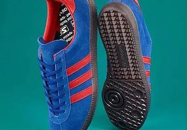 Adidas Spiritus Spezial – Blue and Red