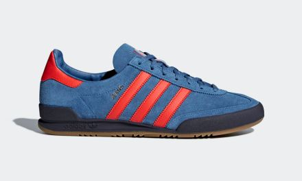 adidas Jeans Trainers – Trace Royal / Red