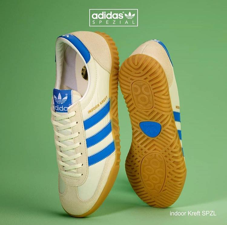 the sale of shoes delicate colors classic style adidas Indoor Kreft Spezial - Info and Stockists | Man Savings