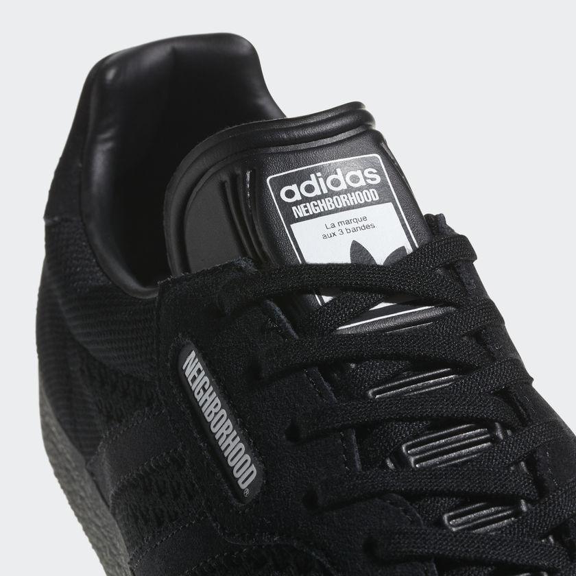 adidas Originals x NEIGHBORHOOD Gazelle Super (Core Black