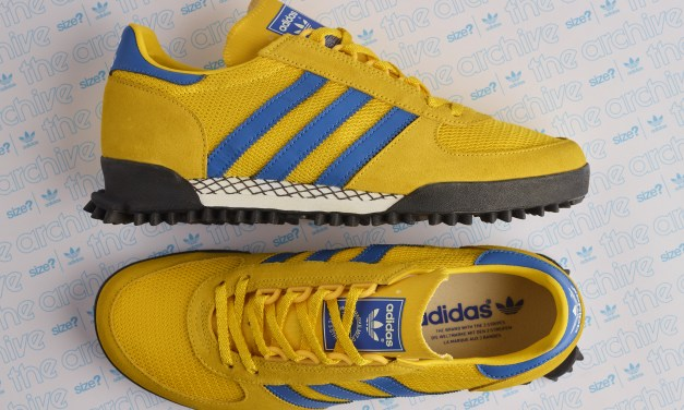 "adidas Marathon TR – Yellow and Blue "" Malmo "" – Launches 2nd March 2018"