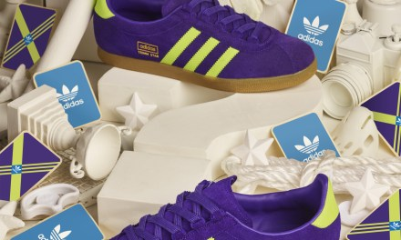 adidas Trimm Star Update – Purple / Green