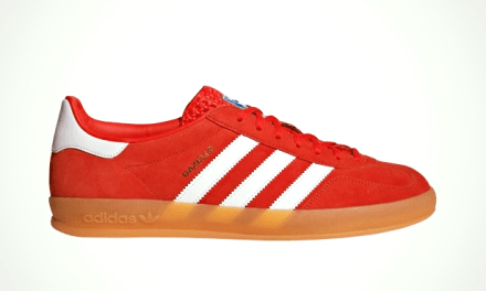 adidas Originals Gazelle Indoor, Red White Gum EE5731