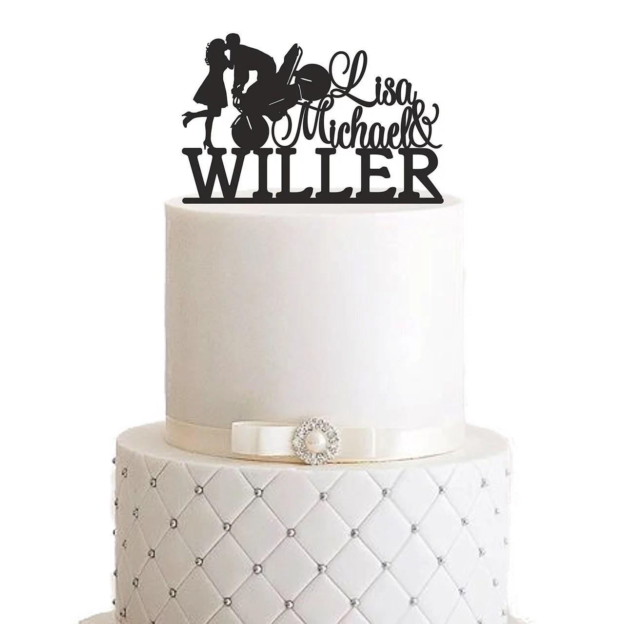 Personalisierte Cake Topper  MANSCHIN LASERDESIGN
