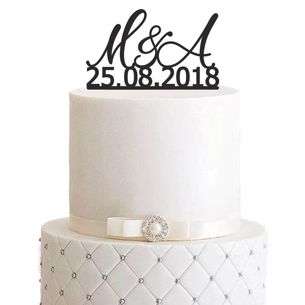 Cake Topper fr Ihre Hochzeit  MANSCHIN LASERDESIGN
