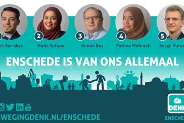 DENK, Enschede adaylarını açıkladı
