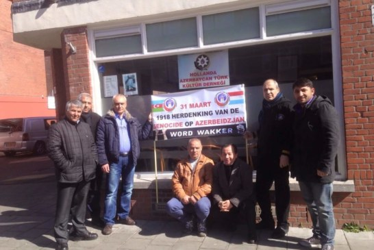 """""""31 Mart'ta Azerbaycan Türklerine bilinçli soykırım yapıldı"""""""