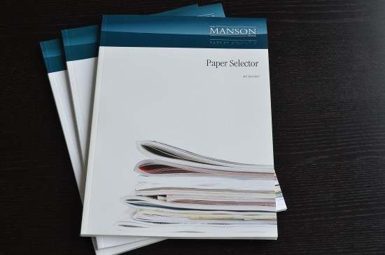 magazine catalogue paper Selector from The MANSON Group Ltd