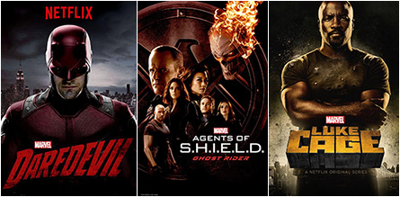 Daredevil, Agents of S.H.I.E.L.D., Luke Cage