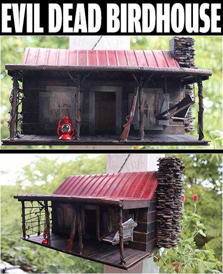 Evil Dead Birdhouse