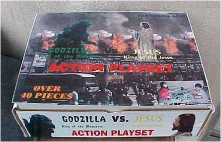 Godzilla vs. Jesus