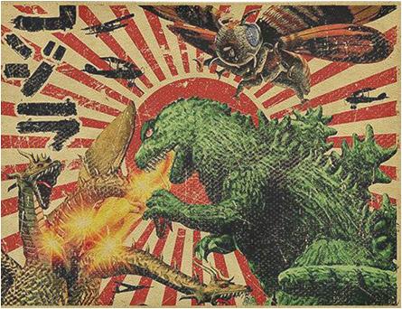 Godzilla Rug