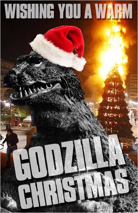 Godzilla Christmas