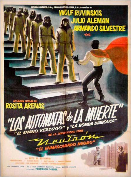Neutron The Atomic Superman versus the Death Robots
