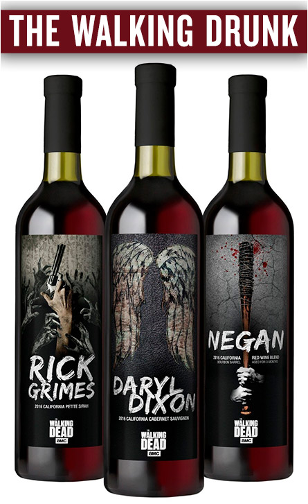 The Walking Dead Wine
