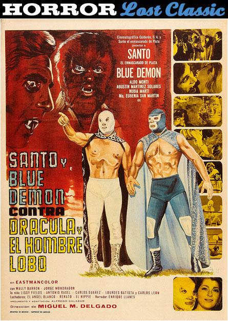 Santo & Blue Demon vs. Dracula & The Wolfman