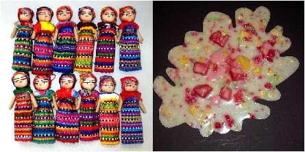 Worry Dolls/Rubber Vomit