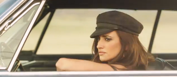 PENELOPE CRUZ DIRECTS A SIZZLING HOT COMMERCIAL