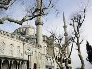 The Blue Mosque has six minarets, instead of the usual four