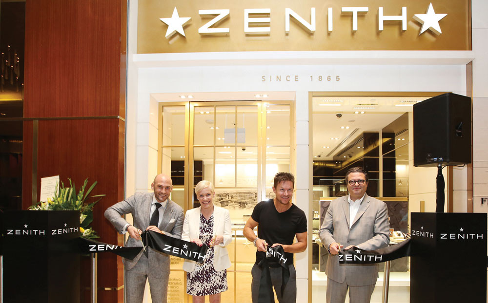 Zenith's Leap in Singapore