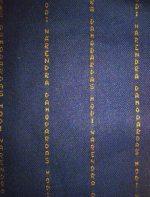 It reads: Narendra Damodardas Modi